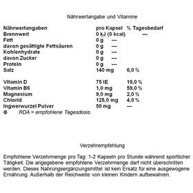 GU Energy Roctane Electrolyte 3x4 Capsules